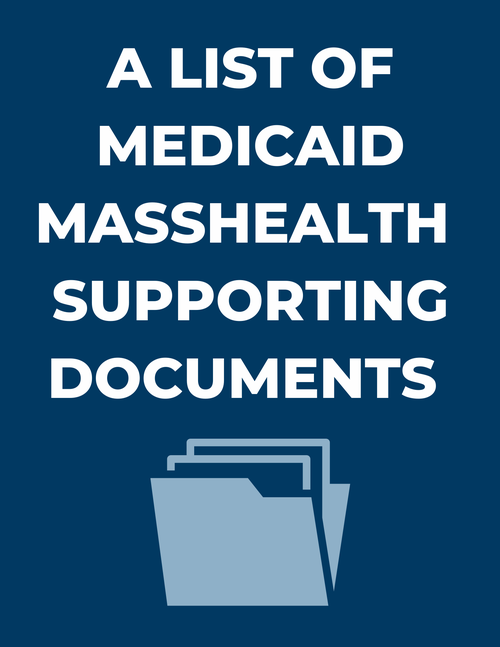 Medicaid MassHealth Supporting Docs