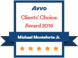 Logo Recognizing Monteforte Law, P.C.'s affiliation with AVVO Clients Choice