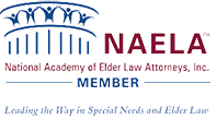 Logo Recognizing Monteforte Law, P.C.'s affiliation with the National Association Elder Law Attorneys Member